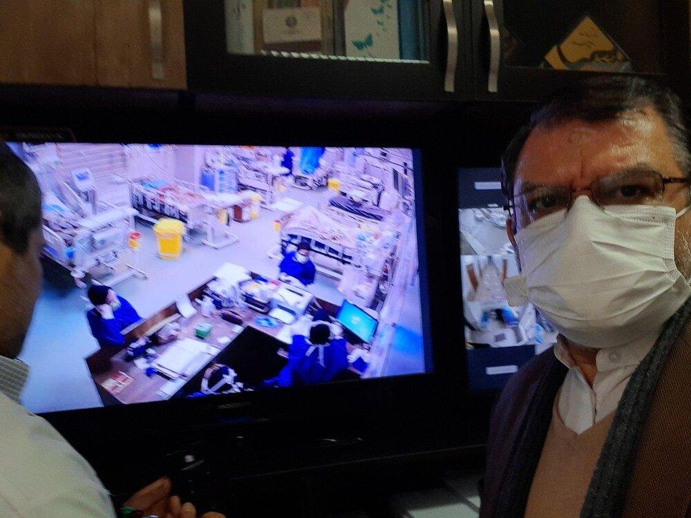 بعد از قالیباف، نمایندگان تهران هم به بخش بیماران کرونایی سر زدند خبر فوری