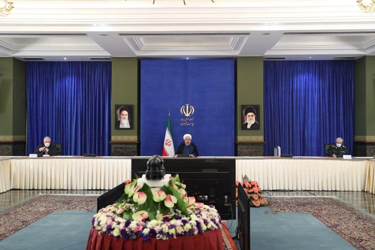 روحانی در جلسه ستاد ملی مقابله با کرونا: محدودیتهای جدید در ۲۵ مرکز استان و ۴۶ شهرستان اعمال میشود