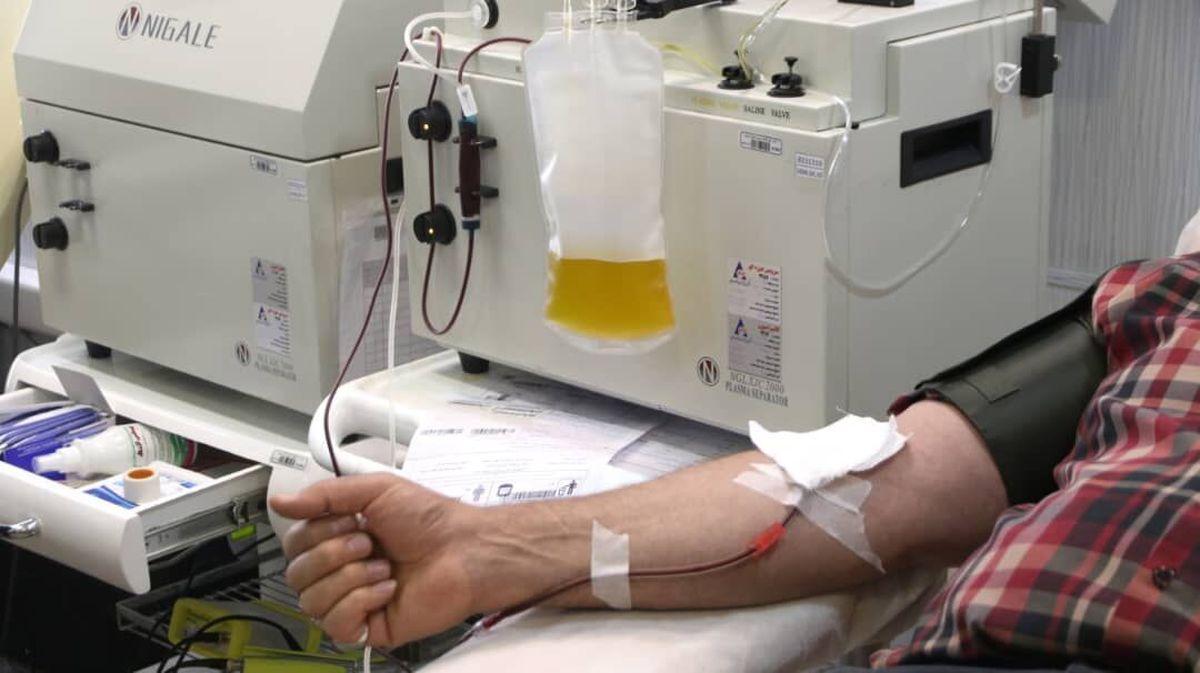 نیاز به تمام گروههای خونی / اهدای پلاسما ۲ درصد بهبودیافتگان کرونا
