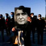 هنرمندانی که در خاکسپاری محمدرضا شجریان در توس حضور داشتند