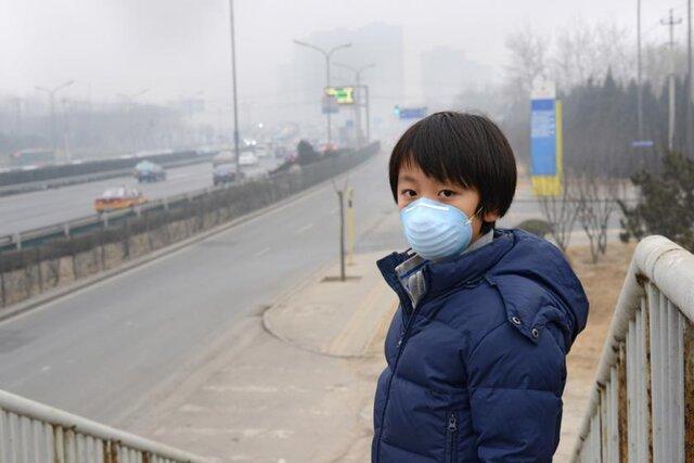 آلودگی هوا، علت فشار خون بالا در کودکان خبر فوری