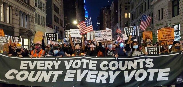 اعتراضهای خیابانی در آمریکا از نیویورک آغاز شد|خبر فوری