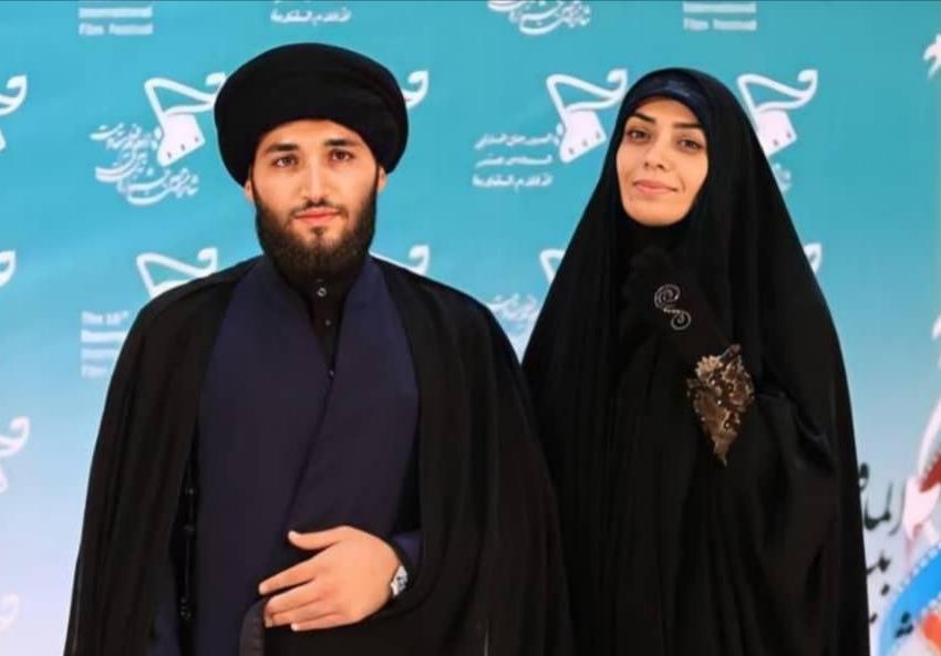 الهام چرخنده و همسرش بدون لباس روحانیت/ عکس|خبر فوری