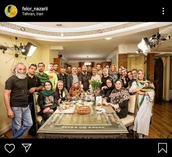 اینستاگرام, جمعی دوست داشتنی اما بدون ماسک در اینستاگرام خانم بازیگر!, رسا نشر - خبر روز