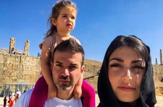 همسر استراماچونی همچنان به یاد ایران/عکس