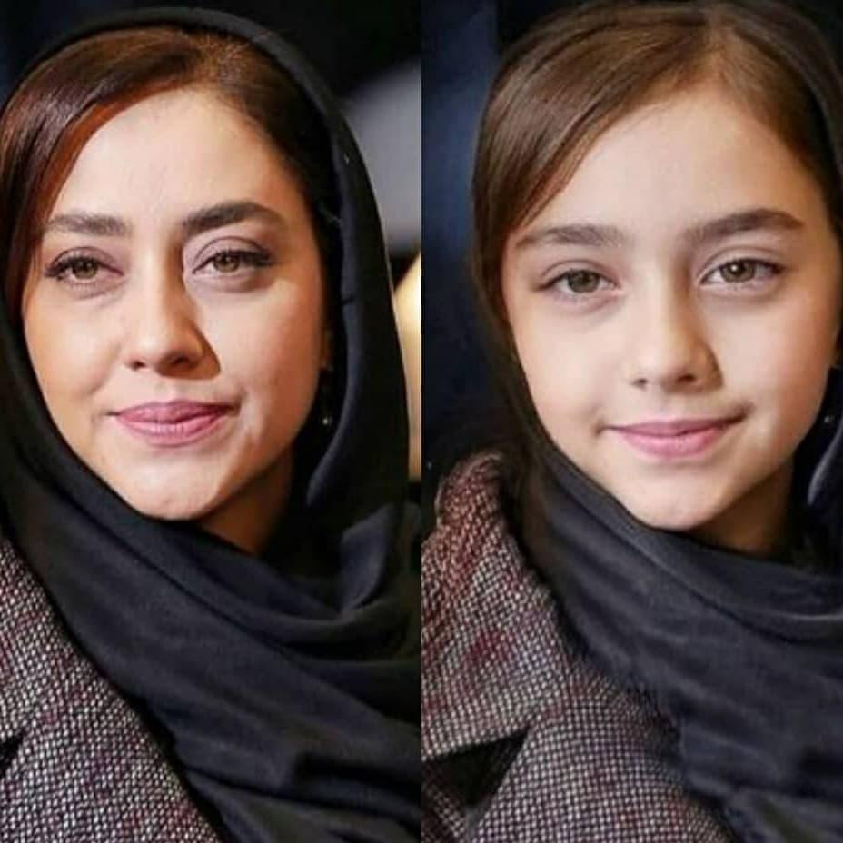 چهره جالب و کودکانه بازیگران|خبر فوری