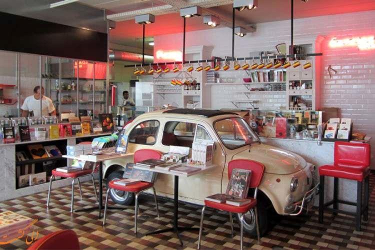 کتابفروشی و رستورانی که در هم آمیخته شدهاند/ عکس|خبر فوری