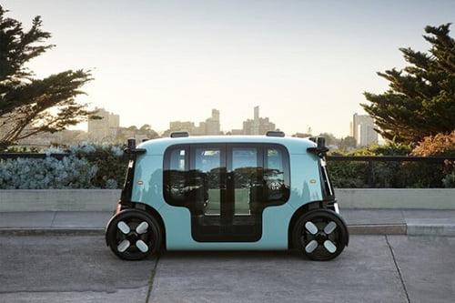 اولین تاکسی خودران آمازون رونمایی شد|خبر فوری