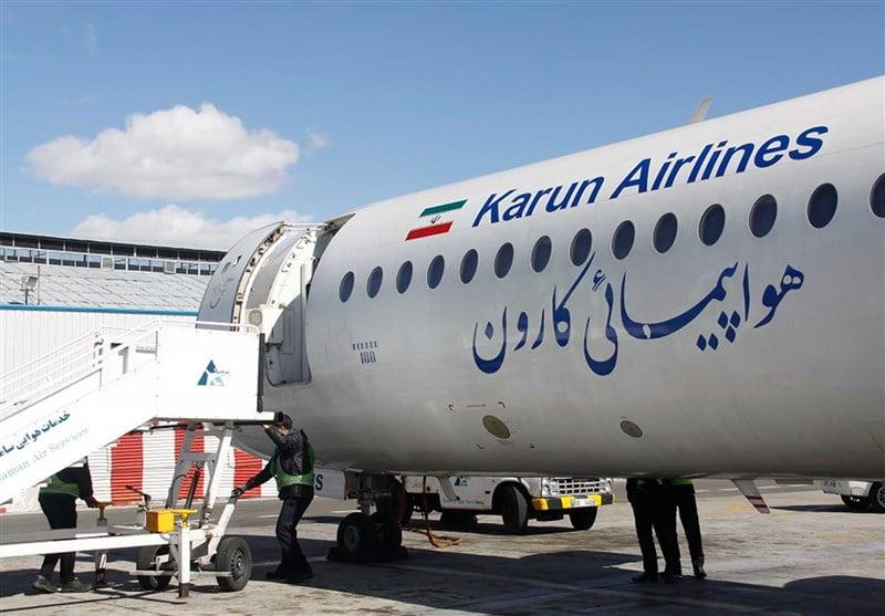 ترکیدن چرخ هواپیمای کارون دلیل بسته شدن باند فرودگاه مهرآباد بود|خبر فوری