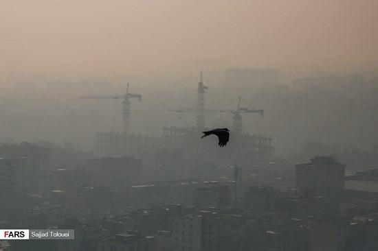 تهران آلوده, تهران، دهمین شهر آلودهی جهان شد, رسا نشر - خبر روز