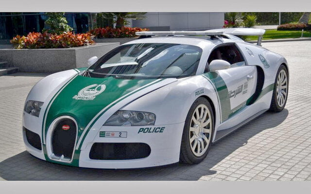 خودروی لوکس, ۱۰ خودروی لوکس پلیس در دنیا, رسا نشر - خبر روز