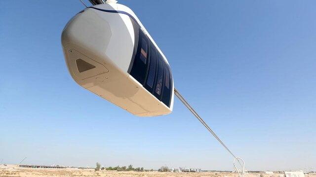 اولین مونوریل برقی در امارات رونمایی شد|خبر فوری