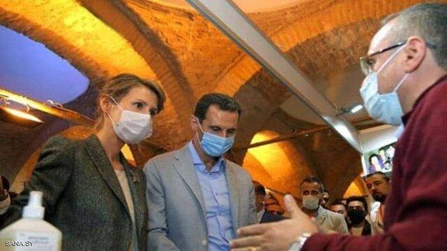 بشار اسد, ابتلای بشار اسد و همسرش به کرونا, رسا نشر - خبر روز