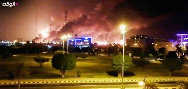 عربستان, اولین تصویر از حمله شدید موشکی به آرامکو عربستان, رسا نشر - خبر روز