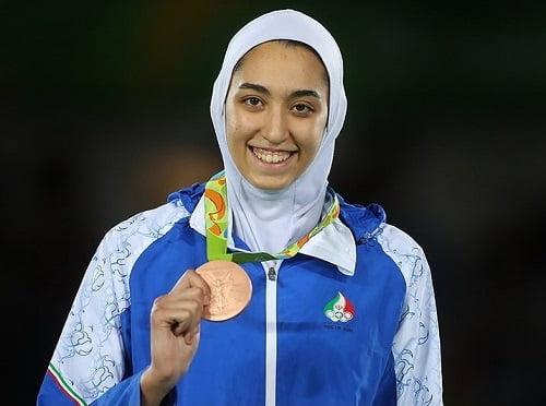کیمیا علیزاده, حضور کیمیا علیزاده در تیم پناهندگان المپیک, رسا نشر - خبر روز