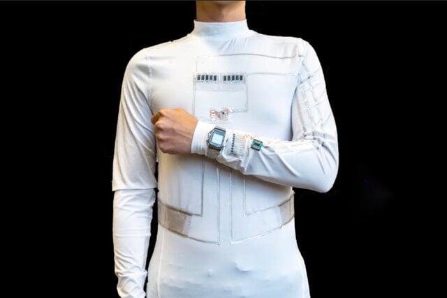 عرق, لباسی که از عرق و حرکت بدن انرژی تولید میکند, رسا نشر - خبر روز