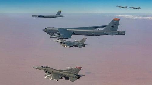 آمریکا, گشتزنی بمبافکنهای آمریکا بر فراز خاورمیانه, رسا نشر - خبر روز
