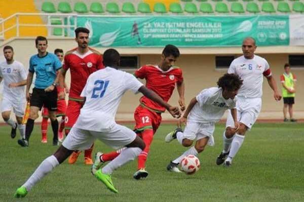 ناشنوایان, تیم فوتبال ناشنوایان ایران به فینال صعود کرد, رسا نشر - خبر روز