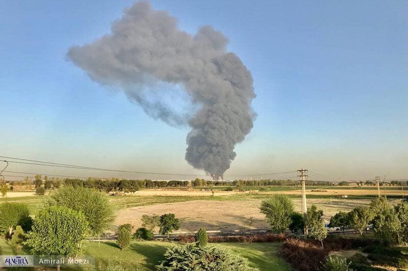 پالایشگاه تهران, جزییات آتشسوزی بزرگ در پالایشگاه جنوب تهران, رسا نشر - خبر روز