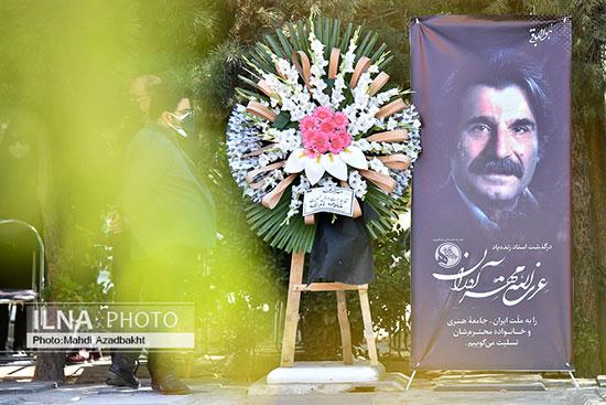 مجموعه تصاویر مراسم خاکسپاری زنده یاد عزت الله مهرآوران