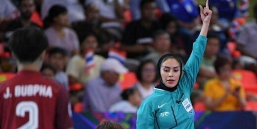 گلاره ناظمی داور فینال جام جهانی فوتسال شد